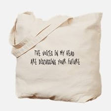 Voices Discussing Your Future Tote Bag