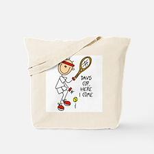 Davis Cup Men's Tennis Tote Bag