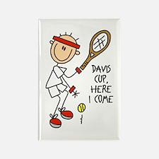 Davis Cup Men's Tennis Rectangle Magnet