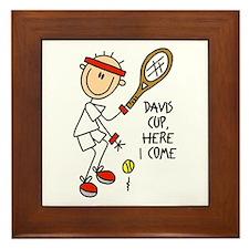 Davis Cup Men's Tennis Framed Tile