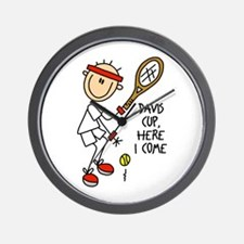 Davis Cup Men's Tennis Wall Clock