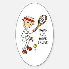 Davis Cup Men's Tennis Oval Decal