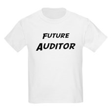 Future Auditor Kids T-Shirt