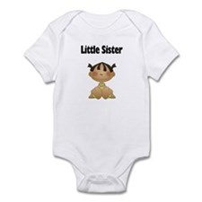 Ethnic Little Sister Baby Bodysuit