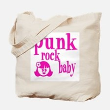Oh Baby! Punk Rock Girl Tote Bag