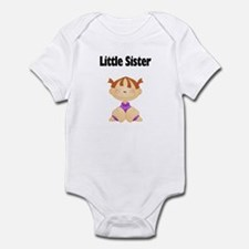 Red Head Little Sister Baby Bodysuit