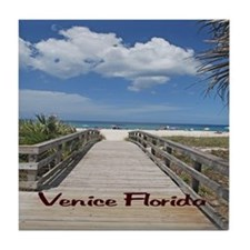 Venice Florida Tile Coaster