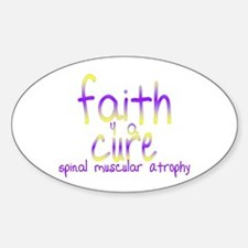 Faith (front) Oval Decal