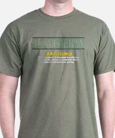 vet threat: T-Shirt
