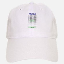 Jesus Word Search! I Found Je Baseball Baseball Cap
