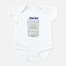 Jesus Word Search! I Found Je Infant Bodysuit