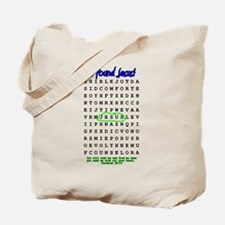 Jesus Word Search! I Found Je Tote Bag