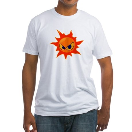 Attitude Sun Fitted T-Shirt