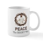 Peace Sign / Jesus Mug