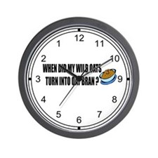 Wild Oats Wall Clock