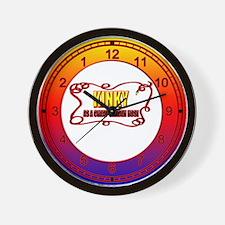Kinky Wall Clock