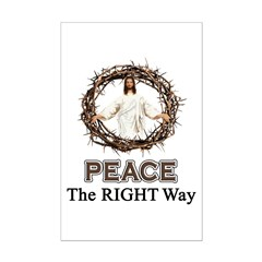 Peace Sign / Jesus Posters