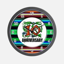 10th Anniversary Wall Clock