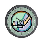 Ice Hockey Fan Wall Clock