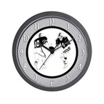 Football Players Wall Clock