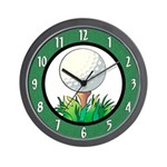 Golf Game Wall Clock