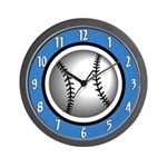 Cool Baseball Wall Clock