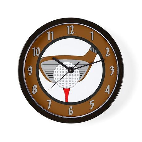 Golf Game Wall Clock