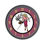 Lets Bowl Wall Clock