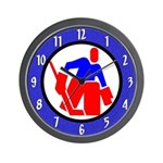 Ice Hockey Game Wall Clock
