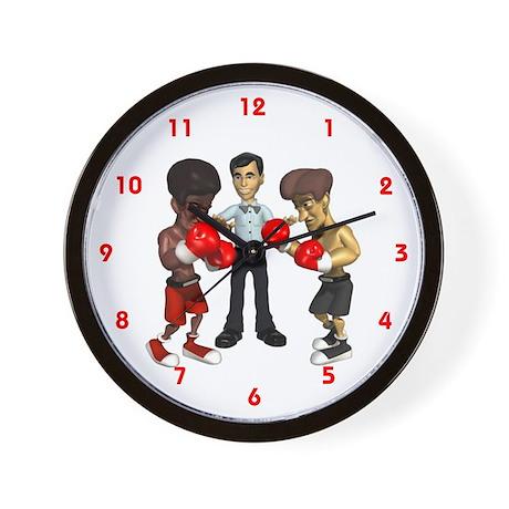 Boxing Ring Wall Clock