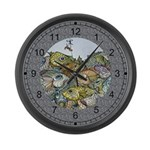 Big Fish Large Wall Clock