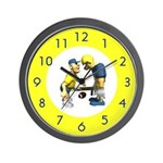 Football Coach Wall Clock