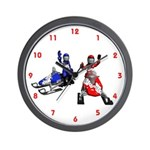 Snowmobiling Wall Clock