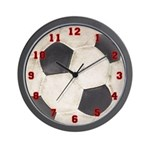 Soccer Ball Wall Clock