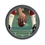 Football Season Wall Clock
