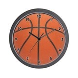 Basketball Wall Clocks