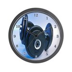Weight Lifting Wall Clock