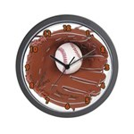 Play Baseball Wall Clock
