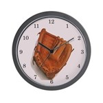 Baseball Glove Wall Clock