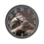 Baseball Game Wall Clock