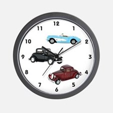 Vintage Cars Wall Clock
