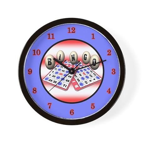 Bingo Wall Clock