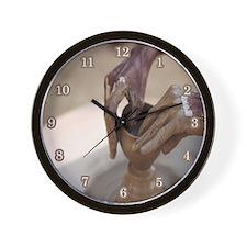 Pottery Wall Clock