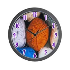 Yarn Wall Clock