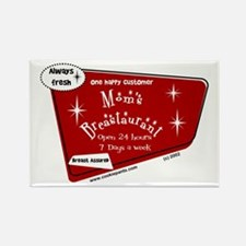 Breastaurant - Happy Customer Rectangle Magnet
