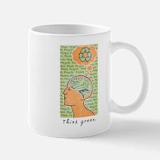 Think Green Brain Power Mug