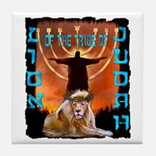 Lion of Judah 5 Tile Coaster