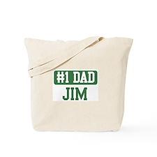 Number 1 Dad - Jim Tote Bag