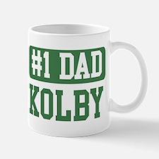 Number 1 Dad - Kolby Mug