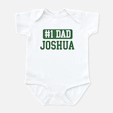 Number 1 Dad - Joshua Infant Bodysuit